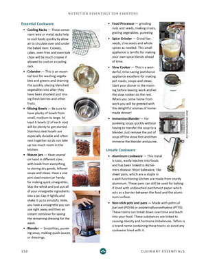 image:Nutrition Essentials for Everyone Ebook Essential Cookware