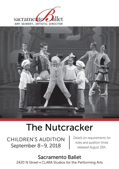 image:The Nutcracker 2018 Childrens Audition Flyer