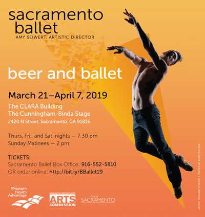 image:Beer and Ballet 2019 Print Advertisement #2