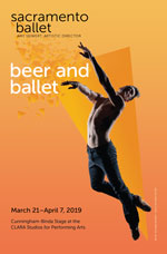 image:Beer and Ballet 2019 Program Front Cover