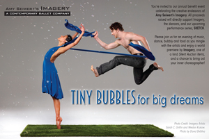image: Amy Seiwert's Imagery Tiny Bubbles Fundraiser Postcard Front