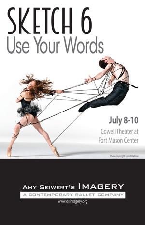 image: Amy Seiwert's Imagery Sketch 6: Use Your Words Program Front Cover