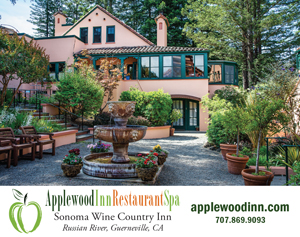 image: Applewood Inn, Restaurant, & Spa Sononma West Advertisement