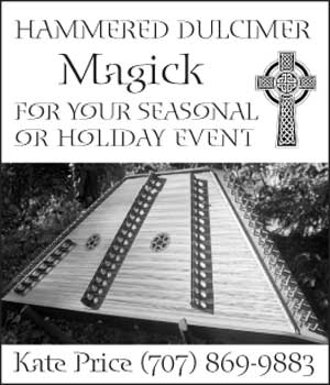 image: Hammered Dulcimer Magick Holiday Advertisement