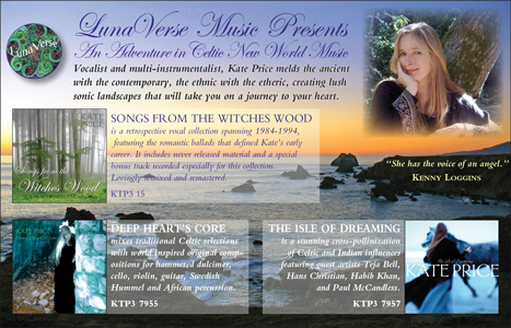 image: LunaVerse Music Presents... Catalog Advertisement