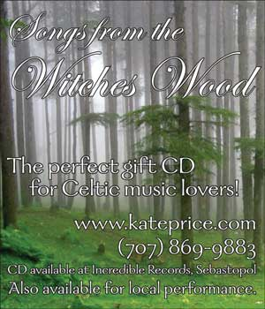 "image: ""Songs From the Witches Wood"" Holiday Advertisement"