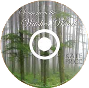 "image: ""Songs From the Witches Wood"" CD Face Label"