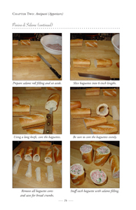 image: Love Italian Style: Family Recipes and Stories Panino di Salame Steps