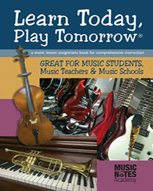 Learn Today, Play Tomorrow front cover