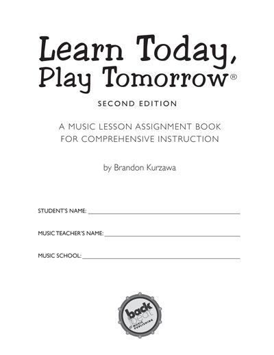 image: Learn Today, Play Tomorrow® Title Page