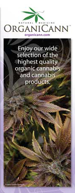 OrganiCann™ Medicinal Cannabis Products Menu Front Cover