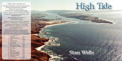 "image: ""High Tide"" CD Cover — Aerial View of Dillon Beach"