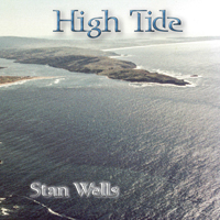 "image: ""High Tide"" CD Front Cover — Aerial View of Dillon Beach"