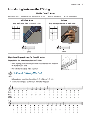 image: Holly's Ukulele Method™ Page 33