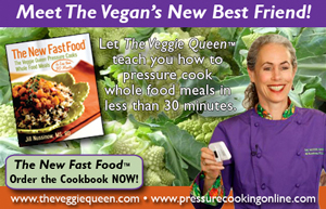 image: The Veggie Queen's Internet Ad